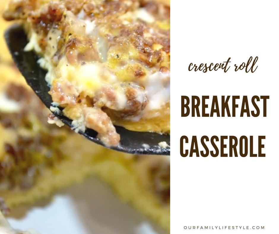 Crescent Roll Breakfast Casserole Recipe
