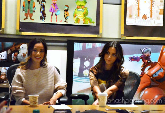 Jamie Chung and Genesis Rodriguez interview