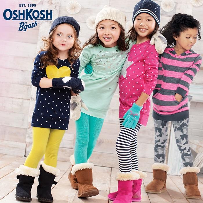 OshKosh winter styles for girls