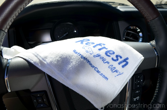 Refresh Your Car antibacterial wipes for cars