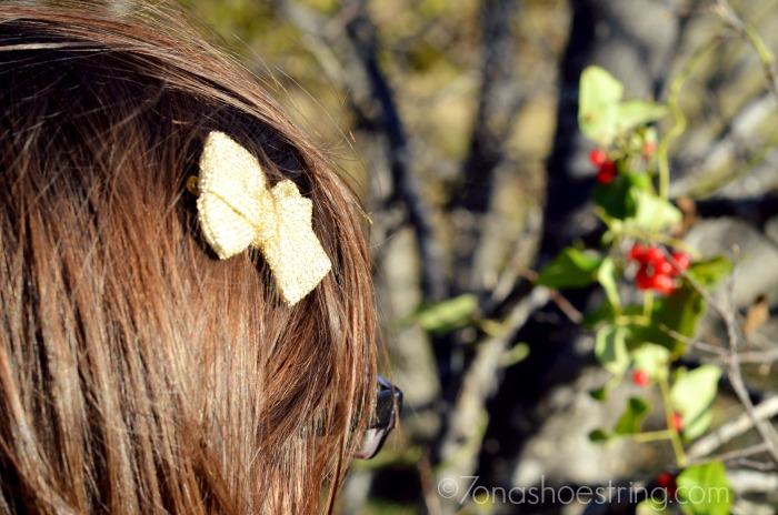 glitter hair fashion for girls