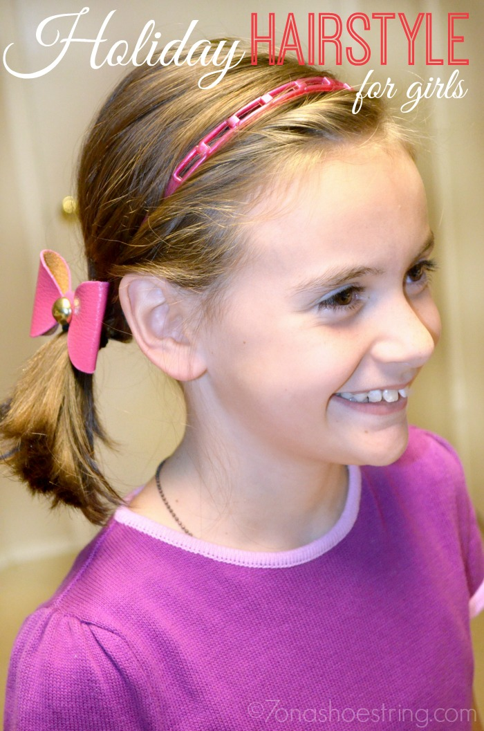 Hairstyles Holiday : Holiday Hairstyle for Girls After Using Johnsons No More Tangles # ...