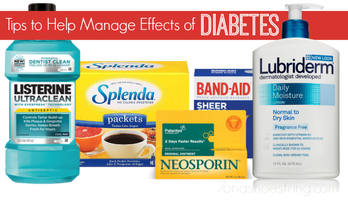 Tips to Help Manage Effects of Diabetes : Healthy Essentials
