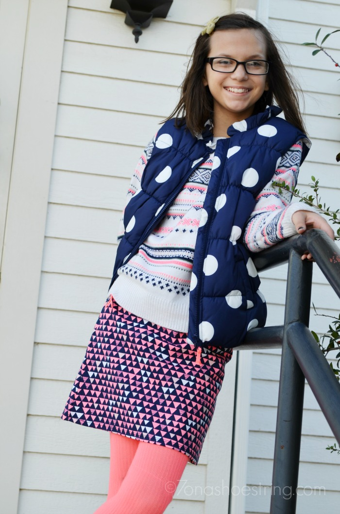 4 piece Gymboree tween outfit