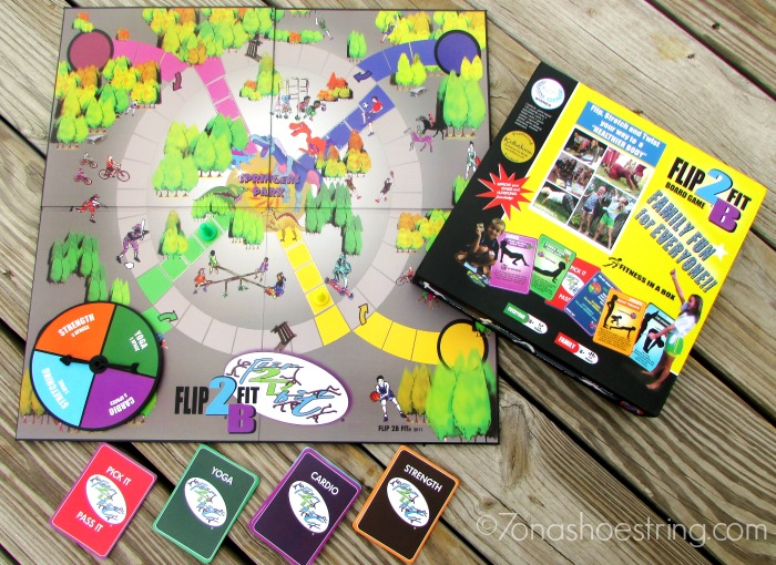 Flip2BFit fitness board game
