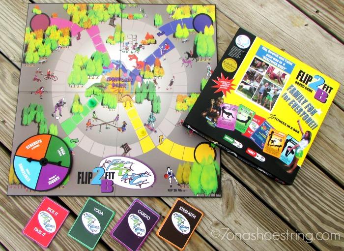 Flip2BFit fitness board game