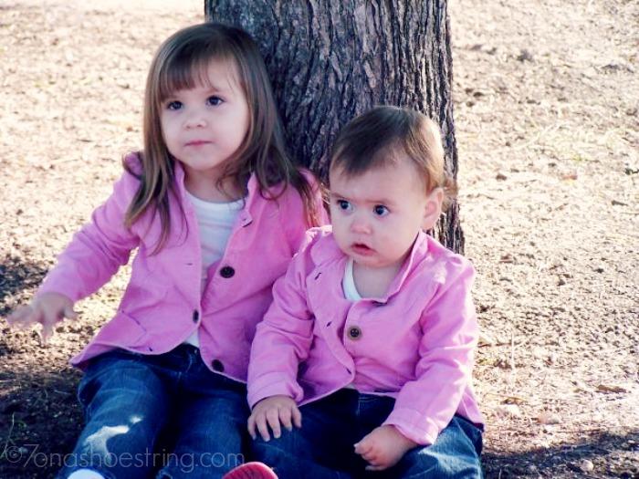 Jaden and Jaci October 2006