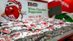 M&M's White Chocolate Peppermint Candy Bark at Target