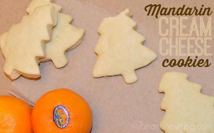 Halos Mandarin Cream Cheese Cookies Recipe
