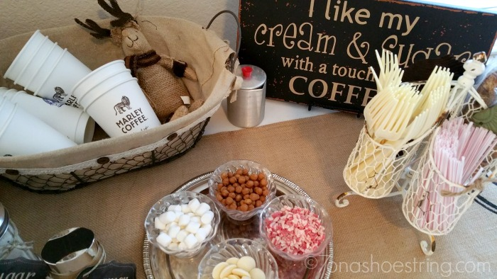 host a coffee sampling party