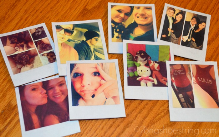 Polaroid Frame Magnets Craft