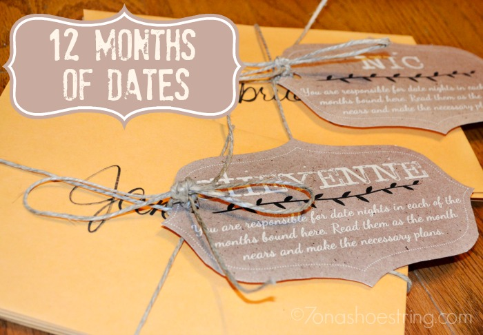 12 Months of Dates for Couples