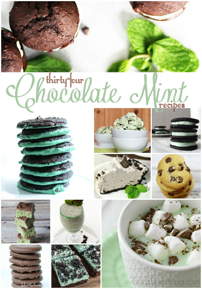34 Chocolate Mint Recipes