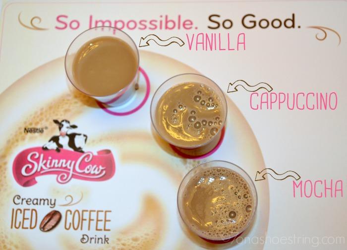 Creamy Iced Coffee Flavors