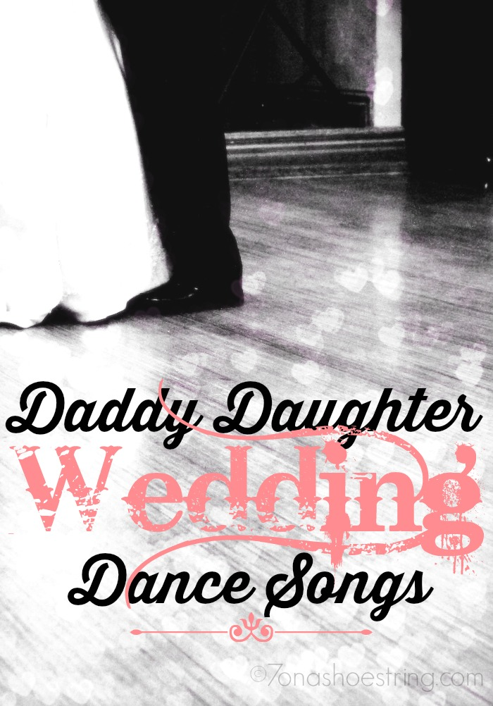 Daddy Daughter Wedding Dance Songs