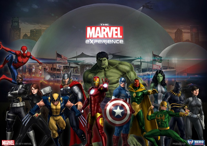 Take Part in The Marvel Experience in Dallas
