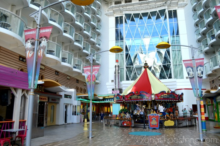 Carousel - Boardwalk of Royal Caribbean