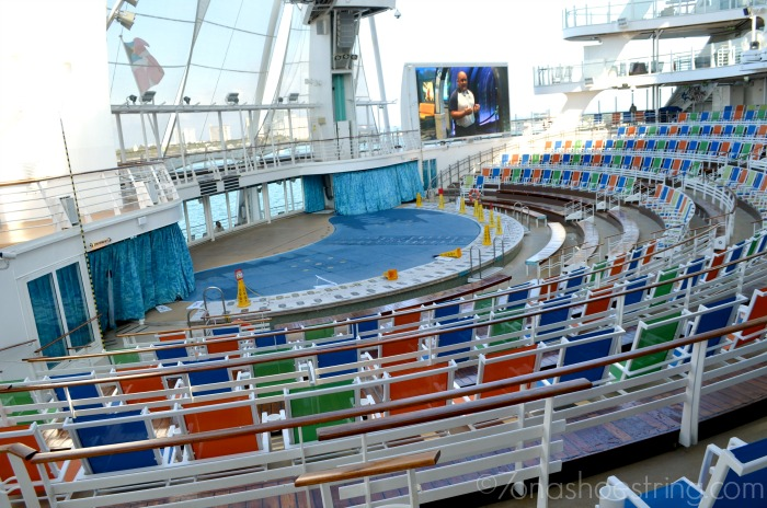 AquaTheater on Oasis of the Seas