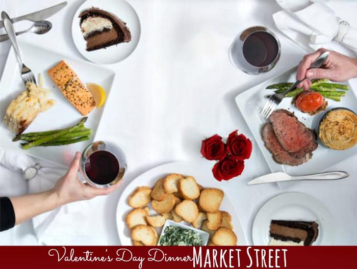 Valentines Dinner at Market Street