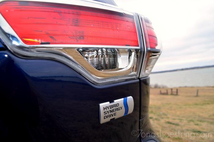2015 Toyota Highlander Hybrid Synergy Drive