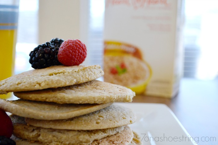 3 Ingredient Pancakes Made with Kashi Oats