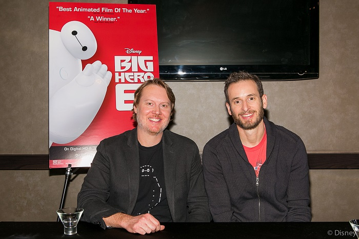 Don Hall and Chris Williams Talk About Bringing Emotion to Big Hero 6