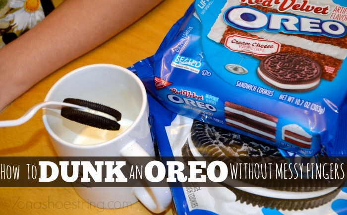 how to dunk an OREO without messy fingers