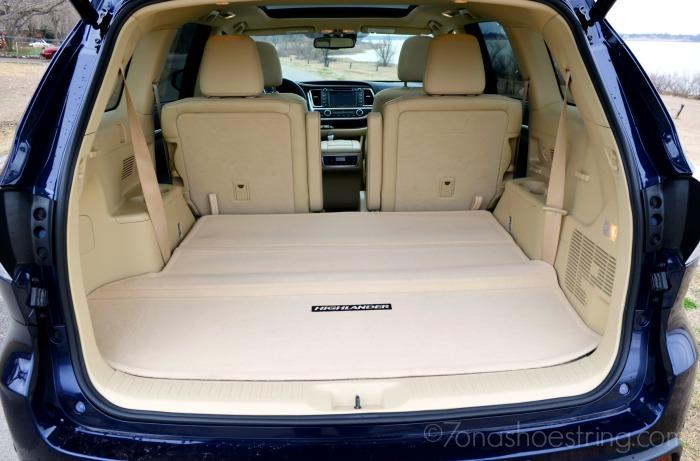 reclining seats 2015 Toyota Highlander