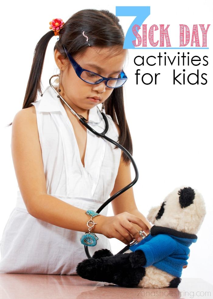 7 sick day activities for kids