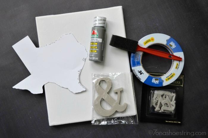 state canvas art supplies