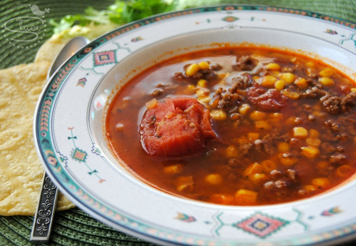 taco soup with canned vegetables