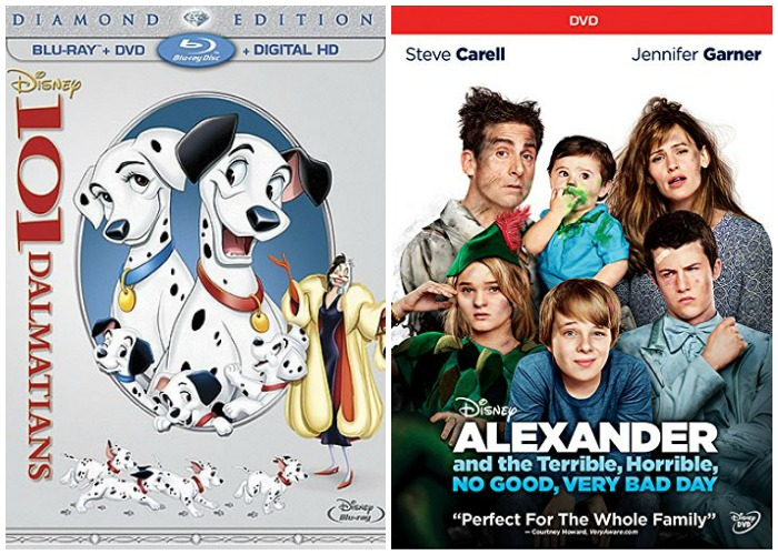 101 Dalmations and Alexander No Good Day