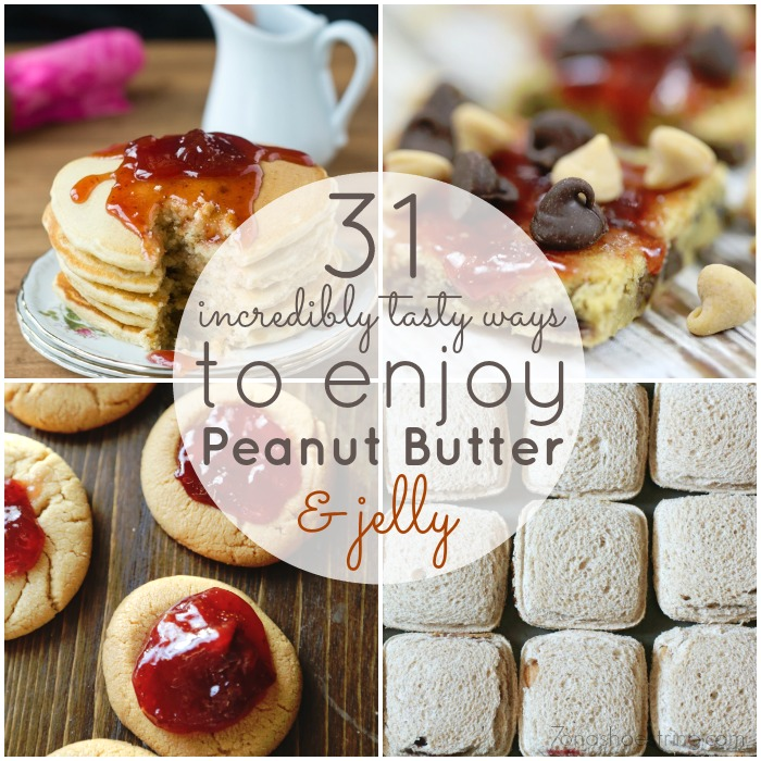 31 Incredibly Tasty Ways to Enjoy Peanut Butter and Jelly