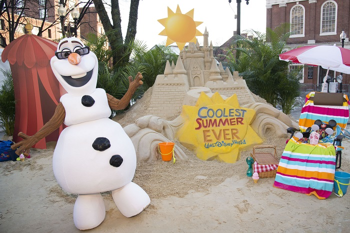 Sand Castle in the Snow Announces 24-Hour Event to Kick Off ÔCoolest Summer EverÕ at Walt Disney World Resort