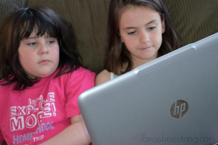 HP Envy 15 Kid-Friendly Apps Encourage Learning