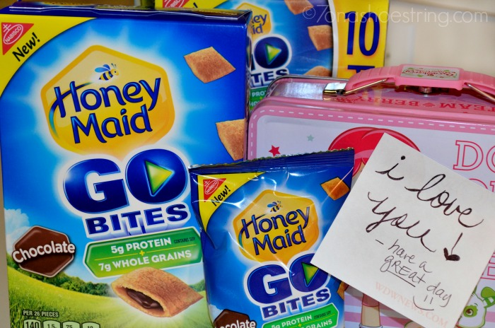 Honey Maid Go Bites chocolate snack packs