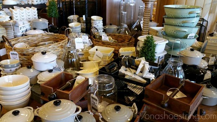 Nebraska Furniture Mart wedding kitchen decor
