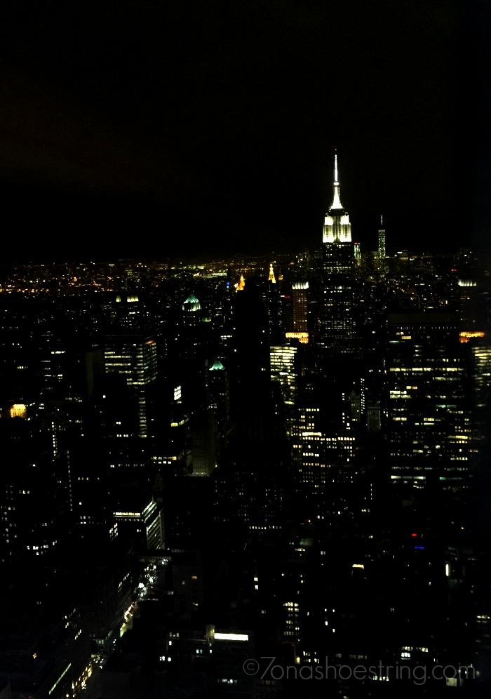 New York city skyline - Empire State Building