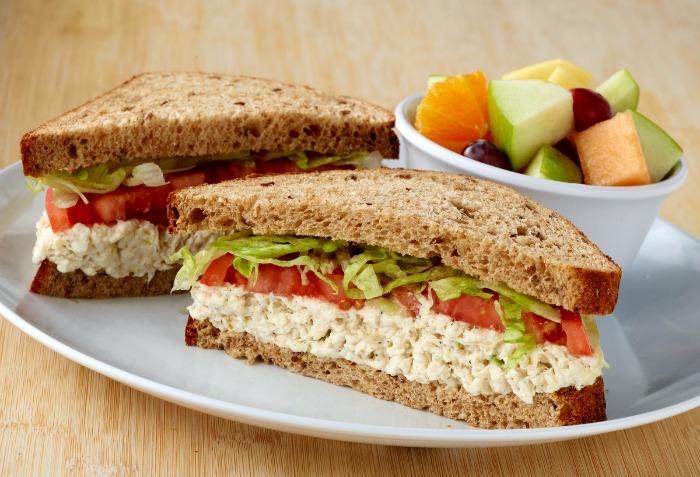 Zoës Kitchen Chicken Salad Sandwich Voted Best Kids-Menu ...