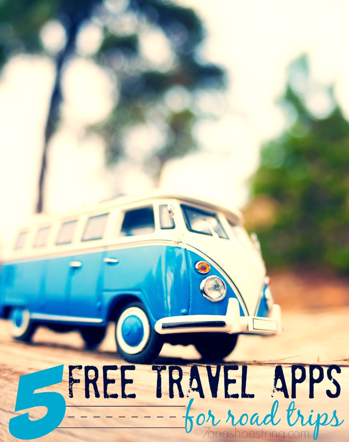 free travel apps for road trips