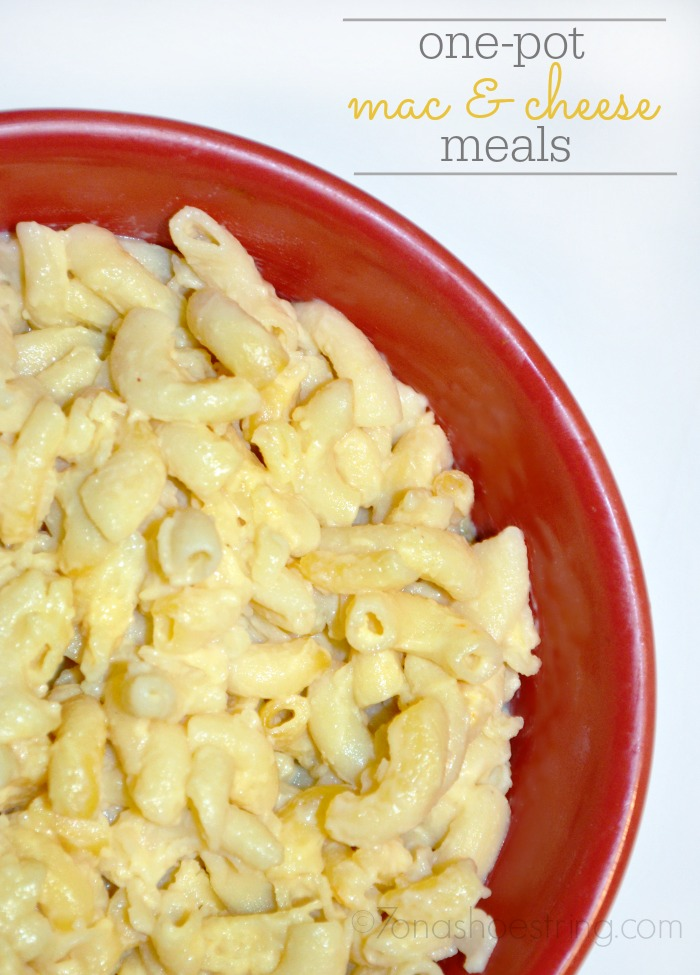 one-pot meals with mac & cheese