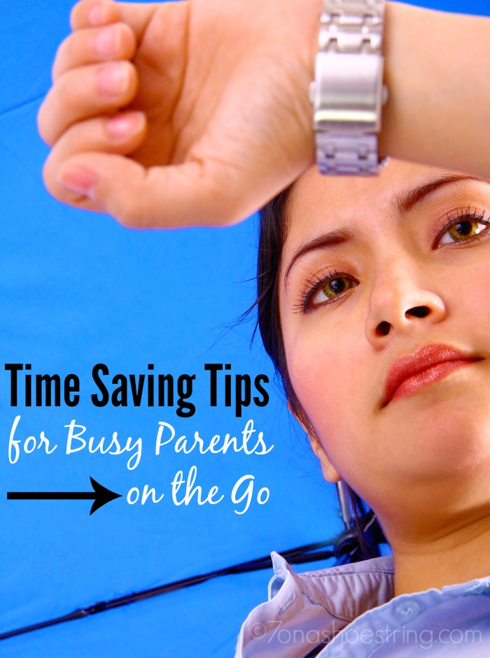time saving tips for busy parents on the go