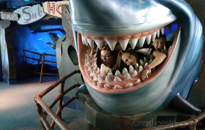 Bruce the shark at The Seas in Epcot