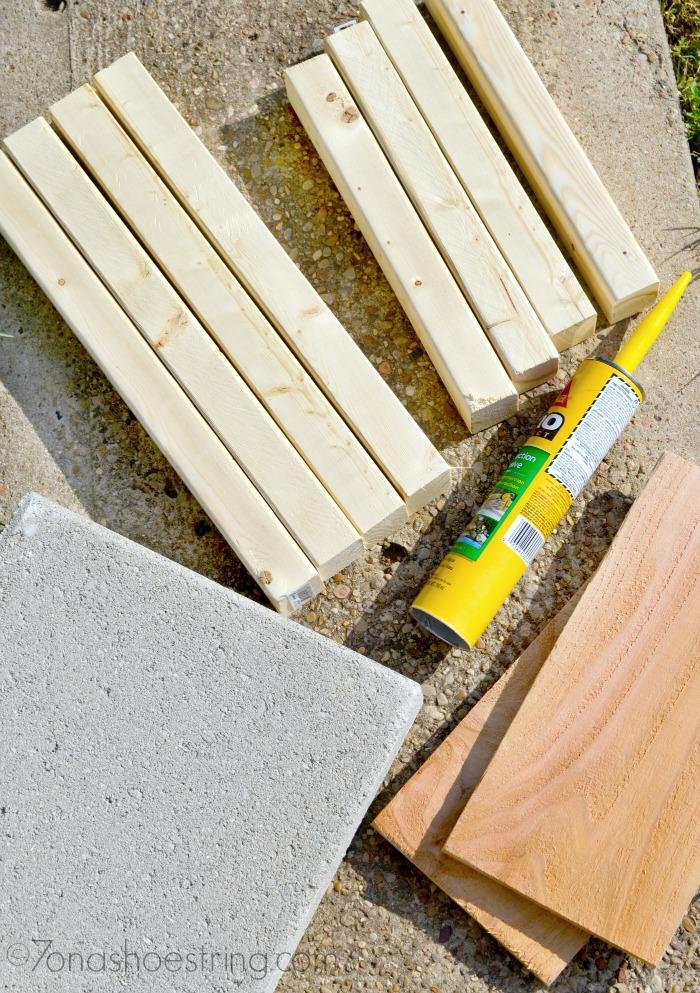 Concrete Pavement Planter supplies