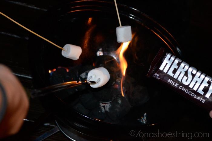 Hersheys smores grill #VeranoHersheys