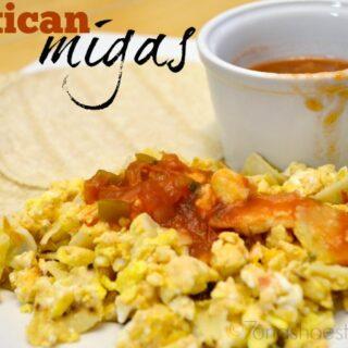 Easy 3-Ingredient Mexican Migas Breakfast
