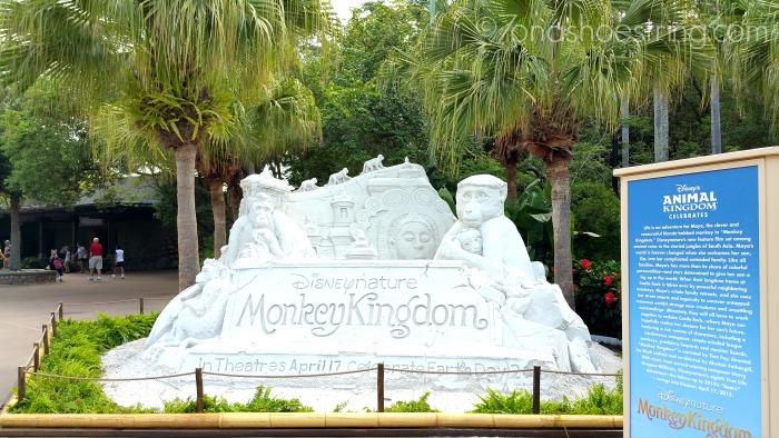 Monkey Kingdom sand sculpture