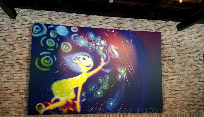 Pixar Inside Out Joy artwork