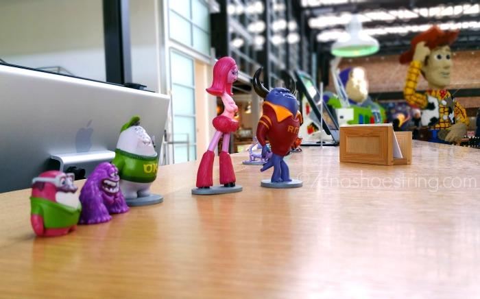 Pixar Studios characters