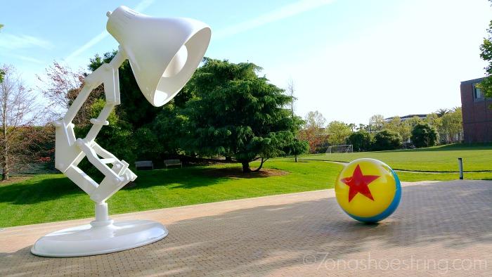 Pixar Studios mascot Luxo Jr